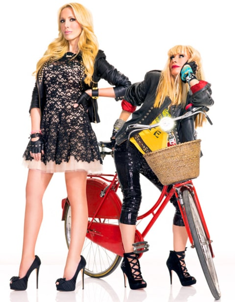 Betsey Johnson and Lulu Johnson