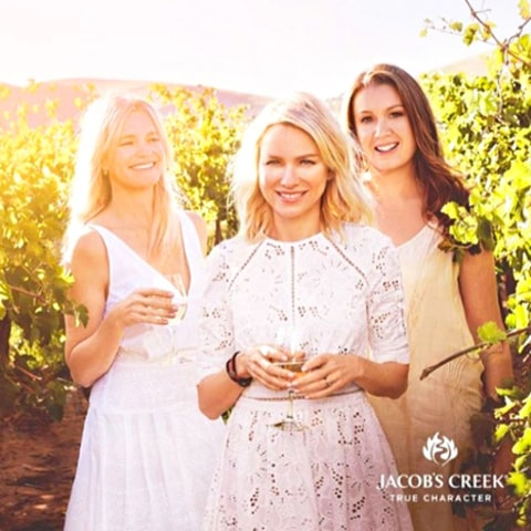 Naomi Watts Jacob's Creek Wine