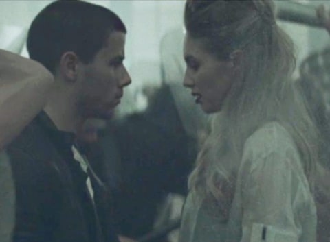 Nick Jonas and Dylan Penn Chains Music Video