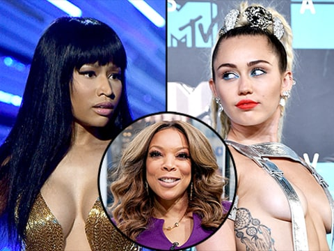 Wendy Williams talks Miley and Nicki