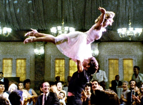 patrick swayze and jennifer grey in dirty dancing