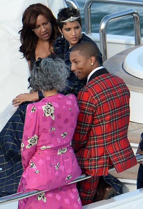 Pharrell Williams Marries Helen Lasichanh All The Wedding