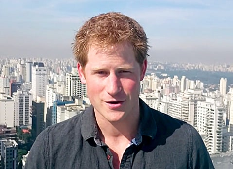 Prince Harry Video Brazil Tour