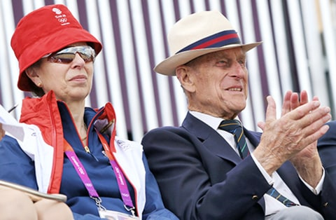 Princess Anne & Prince Philip