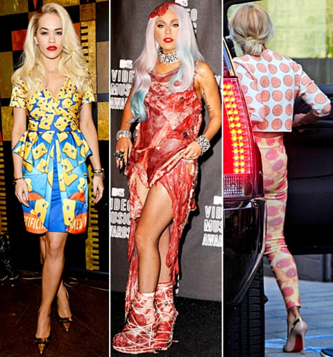 Rita Ora, Lady Gaga and Beyonce