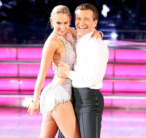 "Kym Johnson Dancing With The Stars Married: Kym Johnson: I'm ""Absolutely Still Seeing"" Robert Herjavec"