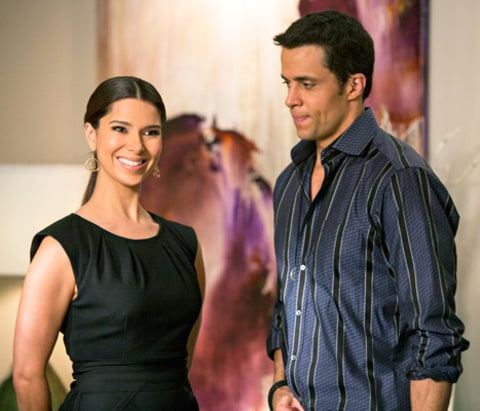 Roselyn Sanchez and Matt Cedeno on Devious Maids