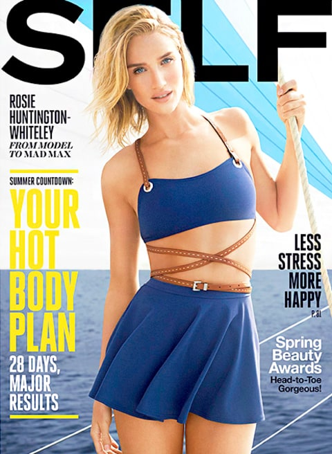 Rosie Huntington Whiteley Self Cover