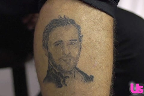 Ryan CabreraGosling tattoo