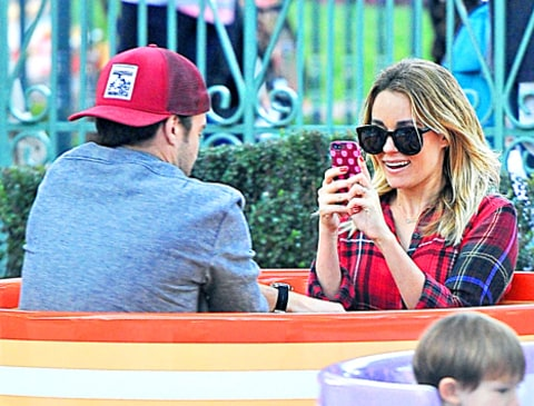 Lauren Conrad and William Tell Disneyland