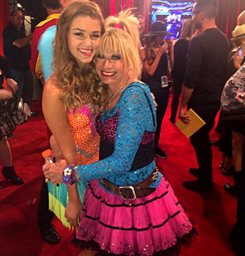 Sadie with Betsey