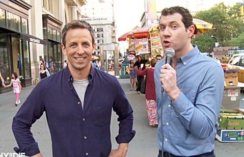Seth Meyers and Billy