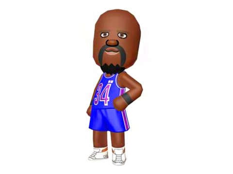 Shaquille O'Neal Mii