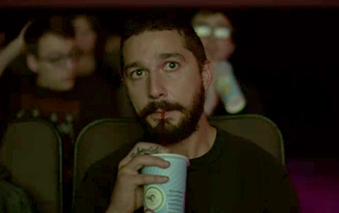 Shia Labeouf Live Streams A Video Of Himself Watching His
