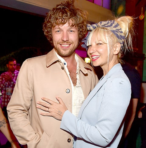 Sia and husband