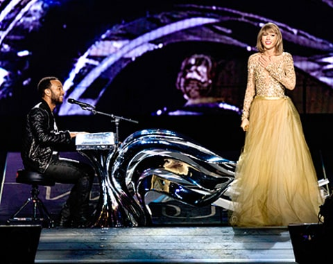 John Legend and Taylor Swift