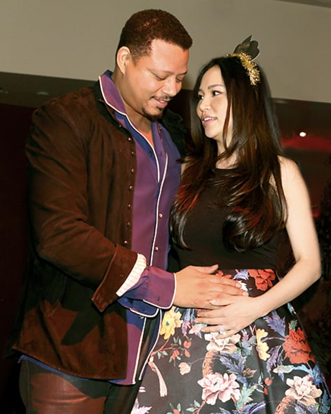Terrence and wife expecting