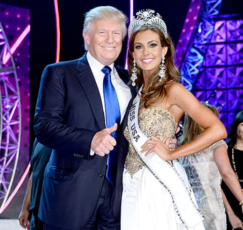 Trump and Miss USA