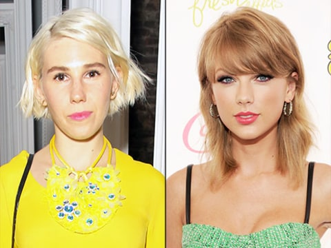 Zosia Mamet and taylor Swift