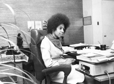 Eleanor Holmes Norton, pictured here in November 1971, filed the first complaint on behalf of the women of 'Newsweek.'