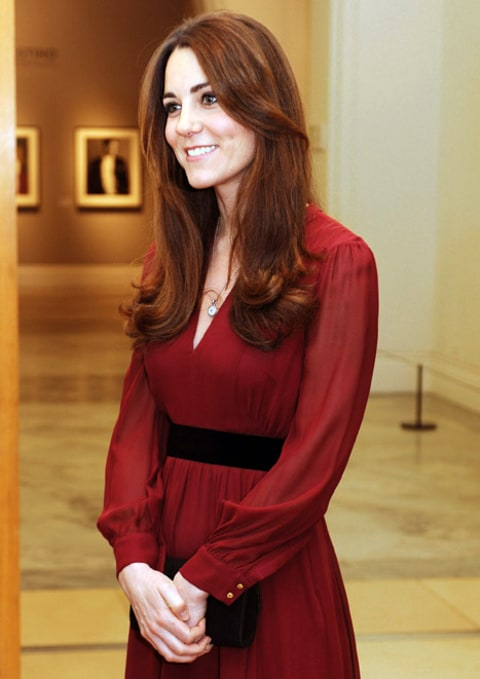 kate at portrait gallery
