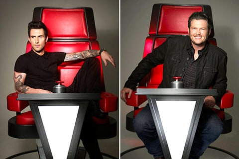 Voice - Adam and Blake