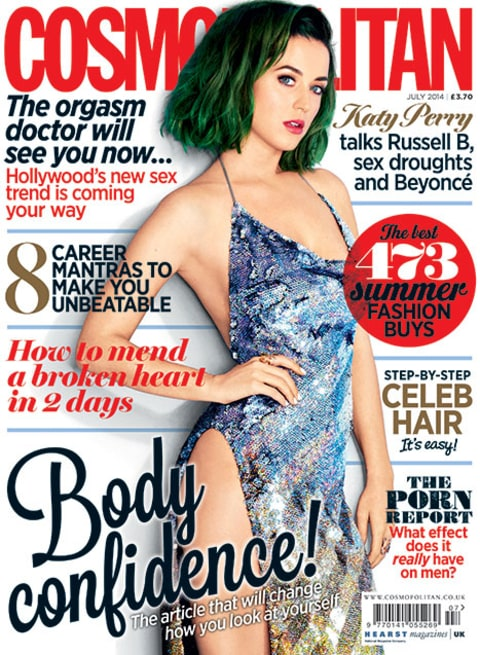 cosmo cover katy perry