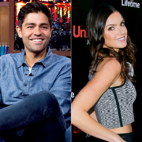 Adrian Grenier and Courtney Robertson