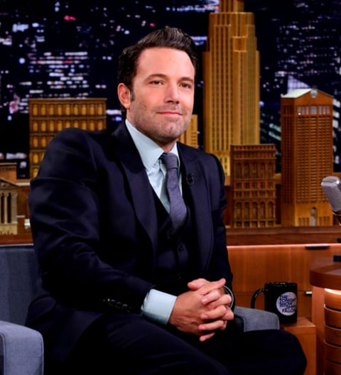 Ben Affleck on Fallon