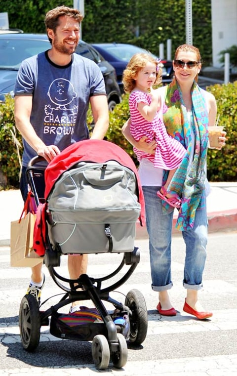 alyson hannigan family