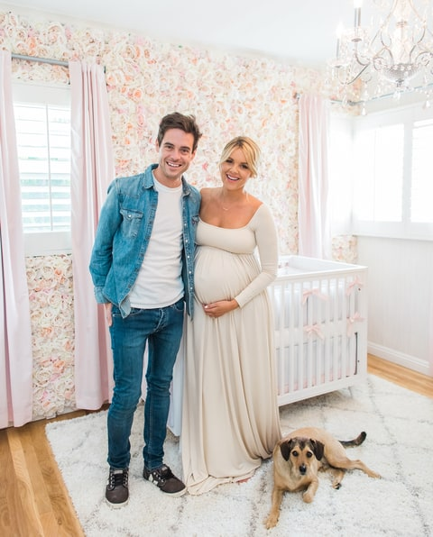 Ali Fedotowsky and Kevin Manno take Us Weekly on an exclusive tour of their nursery.