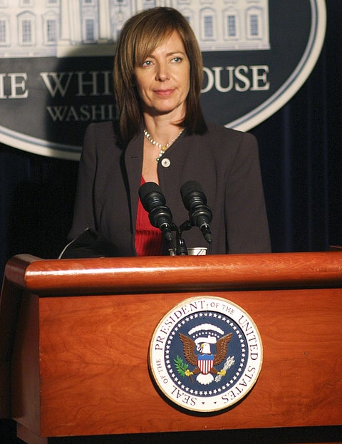 Allison Janney on 'The West Wing.'