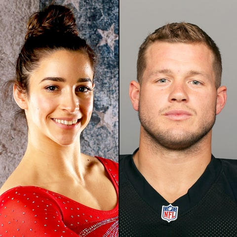 Aly Raisman and Colton Underwood