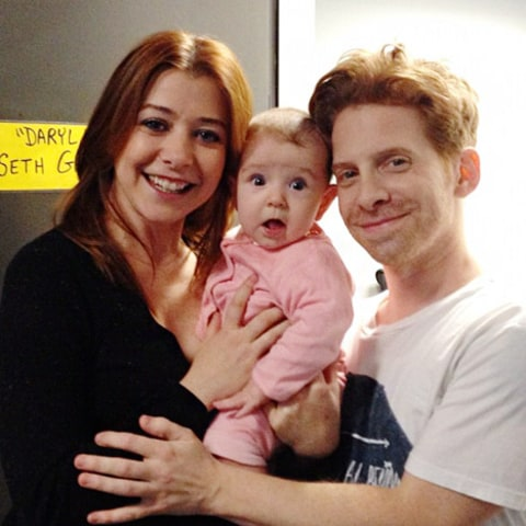 alyson hannigan and seth green