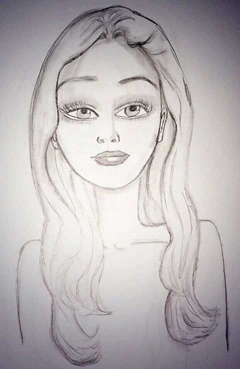 amanda bynes drawing