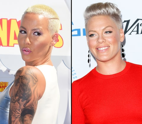 Amber Rose and Pink