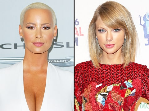 Amber Rose and Taylor Swift