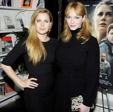 Amy Adams and Christina Hendricks at Spike Jonze & The Cinema Society Host a Screening of Paramount Pictures'