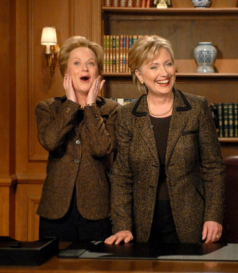 hillary clinton and amy poehler