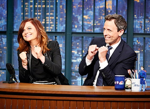 amy poehler seth meyers really 2