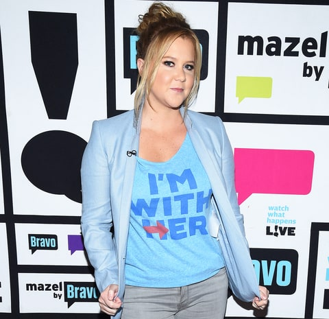 Amy Schumer: Leaving U.S. if Trump won election was joke