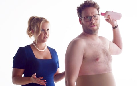 Amy Schumer and Seth Rogen