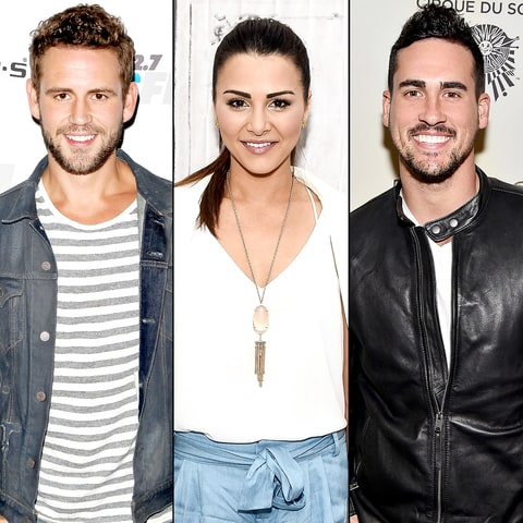 Nick Viall, Andi Dorfman, and Josh Murray
