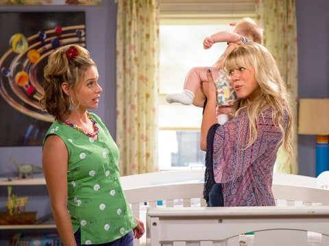 Andrea Barber and Jodie Sweetin
