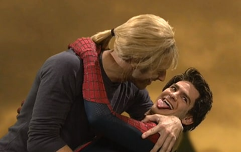 Andrew Garfield SNL w/ Chris Martin