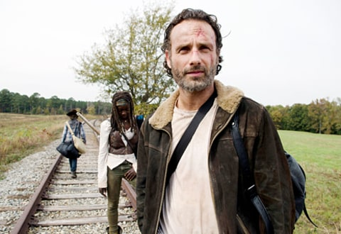 andrew lincoln and the Walking Dead