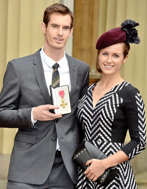 andy murray and gf