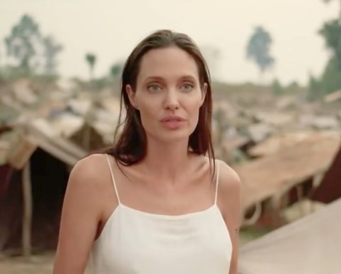 Angelina Jolie Shares Promo for Her Netflix Movie 'First They Killed ...  Angelina Jolie