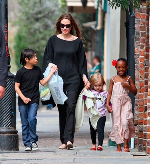 Angelina Jolie & Kids