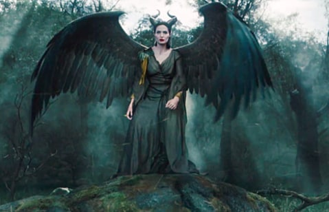maleficient with wings